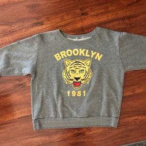 Brooklyn 1981 Vintage Crew Neck Sweatshirt